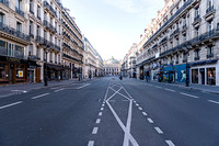 An almost empty road towards the Paris Opera � Ludo Segers @ The Lithuania Tribune