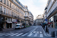Street in front of the Louvre usually filled with tourists   Photo � Ludo Segers