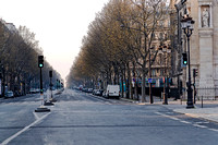 20200328 Boulevard Malesherbes Paris during Corona 2997 Photo © Ludo Segers
