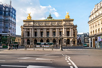 20200318 Paris Opera with only police checking movement and empty buses 9752 Photo � Ludo Segers
