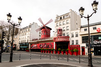 The deserted Moulin Rouge area during the Paris Corona Virus Lockdown � Ludo Segers @ The Lithuania Tribune