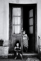 Two young girls, Juyjuy, Argentina.
