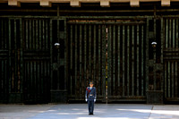 Imperial Palace Guard in Tokyo