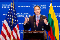 Lithuanian Ambassador  to the USA at the National  Press Club