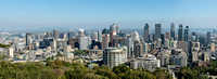 Montreal Late September Panorama